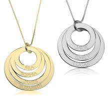 engravable necklace necklace