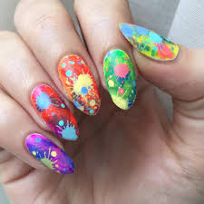 25 rainbow nail arts designs ideas design trends premium