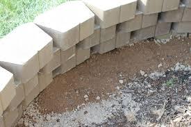 decor home depot concrete blocks in white for pretty garden wall
