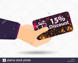 gift card discount coupon for a 15 percent discount in the gift card with