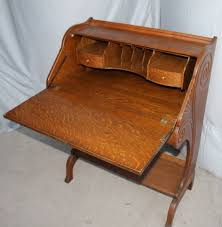 Small Drop Front Desk Bargain S Antiques Archive Antique Oak Drop Front Desk
