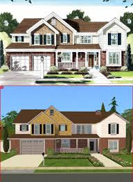american craftsman mod the sims 4 bedroom new american craftsman style home