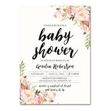 baby shower invitations for editable pdf baby shower invitation diy vintage watercolor