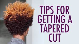 watch this before cutting your natural hair tapered cut youtube