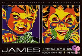 Third Eye Blind San Francisco Classic Poster Third Eye Blind At Fillmore Auditorium San
