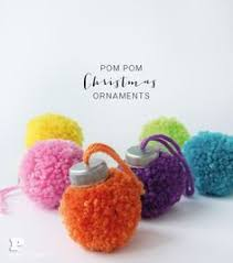 make pom pom ornaments for pinteres