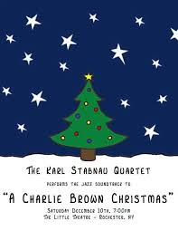 Charlie Brown And Christmas Tree - a charlie brown christmas with the karl stabnau quartet the