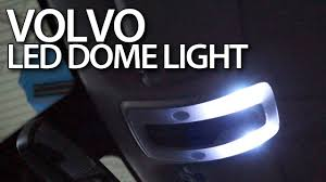 how to change footwell light bulb in volvo c30 s40 v50 c70