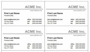 design your word business card template free templates business