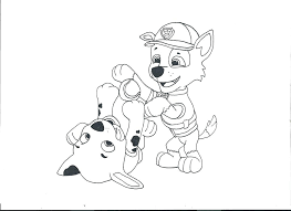happy birthday paw patrol coloring page marshall paw patrol coloring page paw patrol and rocky by on