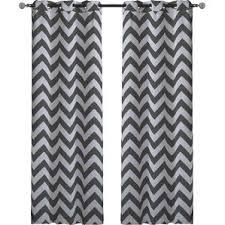 Chevron Pattern Curtain Panels Chevron Curtains You U0027ll Love Wayfair