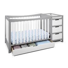 Storkcraft Princess 4 In 1 Fixed Side Convertible Crib White by Graco Remi 4 In 1 Convertible Crib And Changer Hayneedle