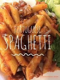 portuguese spaghetti linguica sausage pasta hangry fork