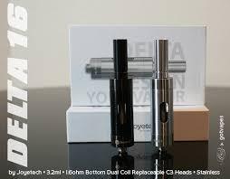 Joyetech Delta 23 Atomizer 6ml joyetech delta 23 6 ml airflow bc 1 4ohm black gv