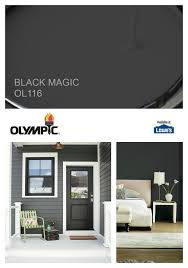 olympic paint 2018 color of the year is black magic paint