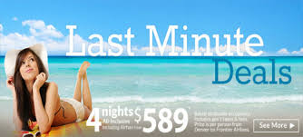 apple vacations last minute deals all inclusive w airfare