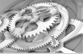 clock cogs drawing google search a r t pinterest