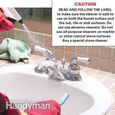 What Is The Best Way To Clean A Bathtub How To Remove Water Stains Family Handyman