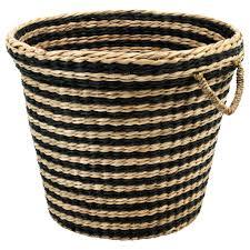 cane laundry hamper maffens cestino ikea organize pinterest washing