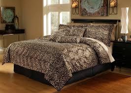 7 piece leopard animal kingdom bedding comforter set