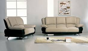 Best Italian Leather Sofa Furniture Amazing White Sofa Couch Combine With Black Accent On
