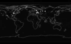 Black World Map by Download Black Map Wallpaper Gallery