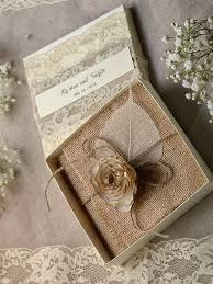 burlap wedding invitations lace burlap wedding invitations 10 vintage wedding invitations