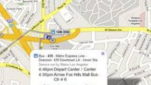 Google Maps Los Angeles Google Maps Despliega Informacion De Transporte Publico En Los