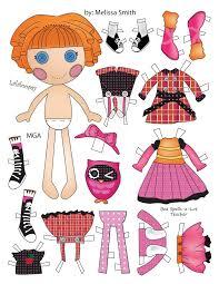 printable paper dolls lalaloopsy paper dolls pt 2 lalaloopsy dolls and craft