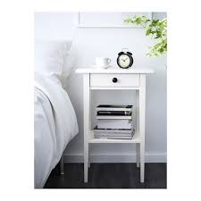 Hemnes Side Table Hemnes Bedside Table White Ikea