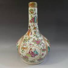 mandarin porcelain 51bidlive antique mandarin porcelain bottle vase