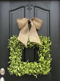 boxwood wreath wreaths boxwood wreath square wreath summer decor