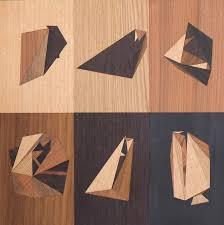 wood geometric a computerized emerges from wood logs scene360