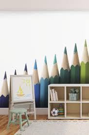 couleur papier peint chambre spécialiste français papier peint chambre enfant crayons de