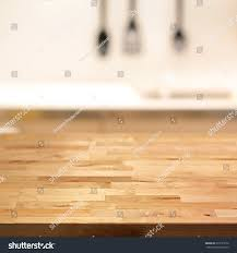 wood table top kitchen island on stock photo 373191676 shutterstock