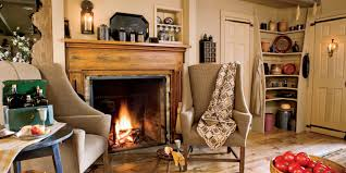 country kitchen fireplace design video and photos