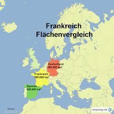 fl che deutschland frankreich fläche hello4teachers landkarte für frankreich
