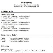 Create Resume For Job by How To Write A Basic Resume Haadyaooverbayresort Com