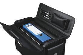 malette de bureau alassio malette pilote genova cuir synthétique noir alassio