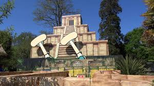 temple heights at paultons park lost kingdom youtube