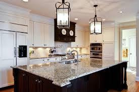 traditional pendant lighting for kitchen atlanta giallo vincenza granite kitchen traditional with cream