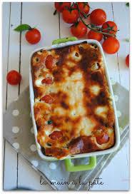 cuisiner des tomates cerises clafoutis aux tomates cerises olives et parmesan