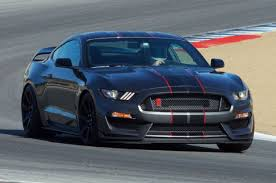 Black Mustang With Stripes 2016 Ford Shelby Gt350r Mustang Black And Red Stripes Photo