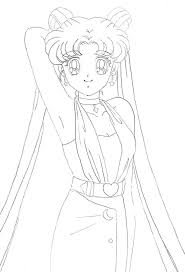 231 best sailor moon coloring pages images on pinterest coloring