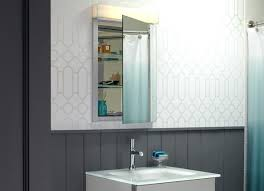 recessed medicine cabinet with lights robern recessed medicine cabinet bathroom lighting over medicine