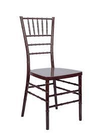 mahogany chiavari chair chiavari chair rentals happy party rental miami