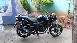 black honda bike modified honda cb trigger youtube