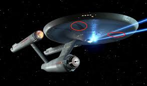 star trek did the original enterprise have landing gear