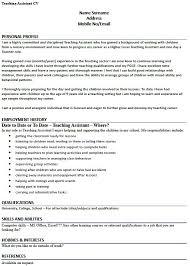 Sample Resume For Teacher Assistant Sample Resume For Teachers Assistant Assistant Teacher Resume
