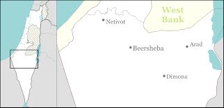 negev desert map negev desert road ambush